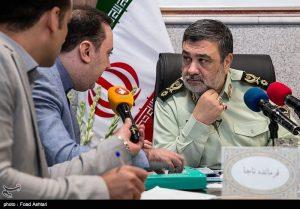 محمدعلی نژادیان و سردار حسین اشتری فرمانده محترم ناجا